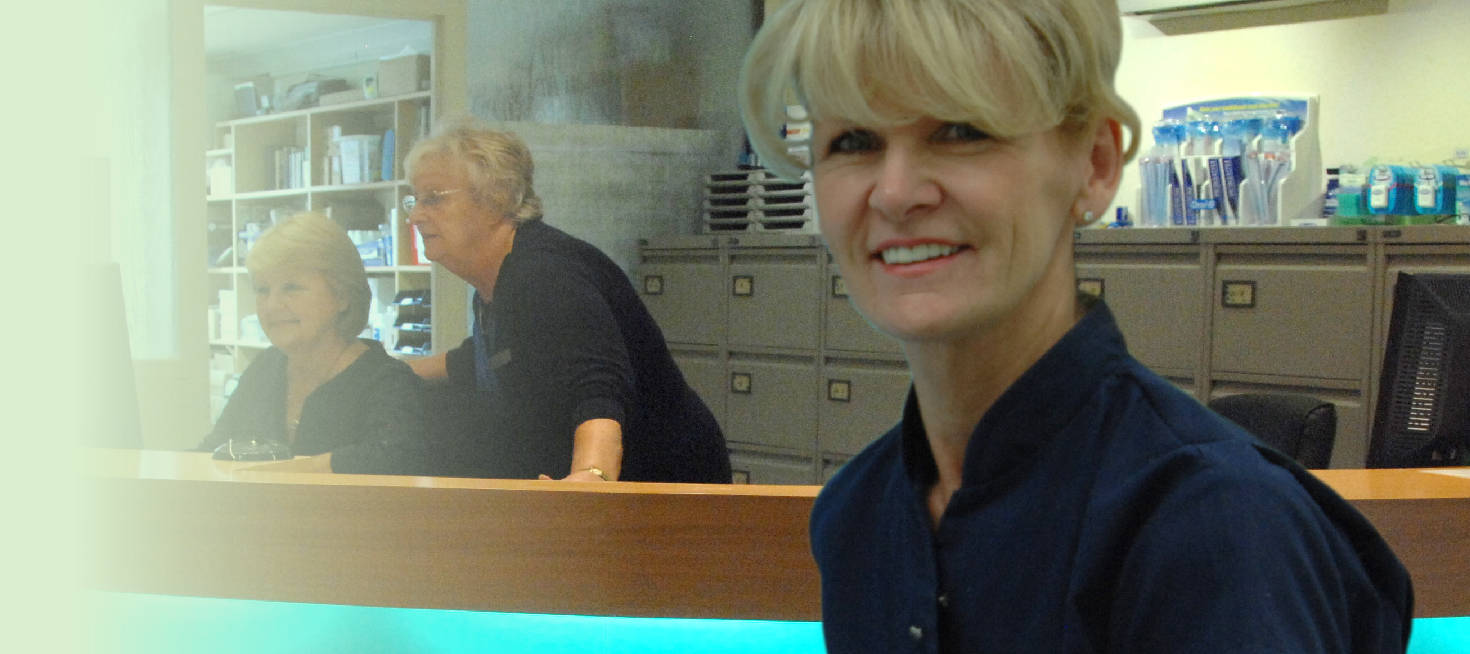 our friendly receptionists