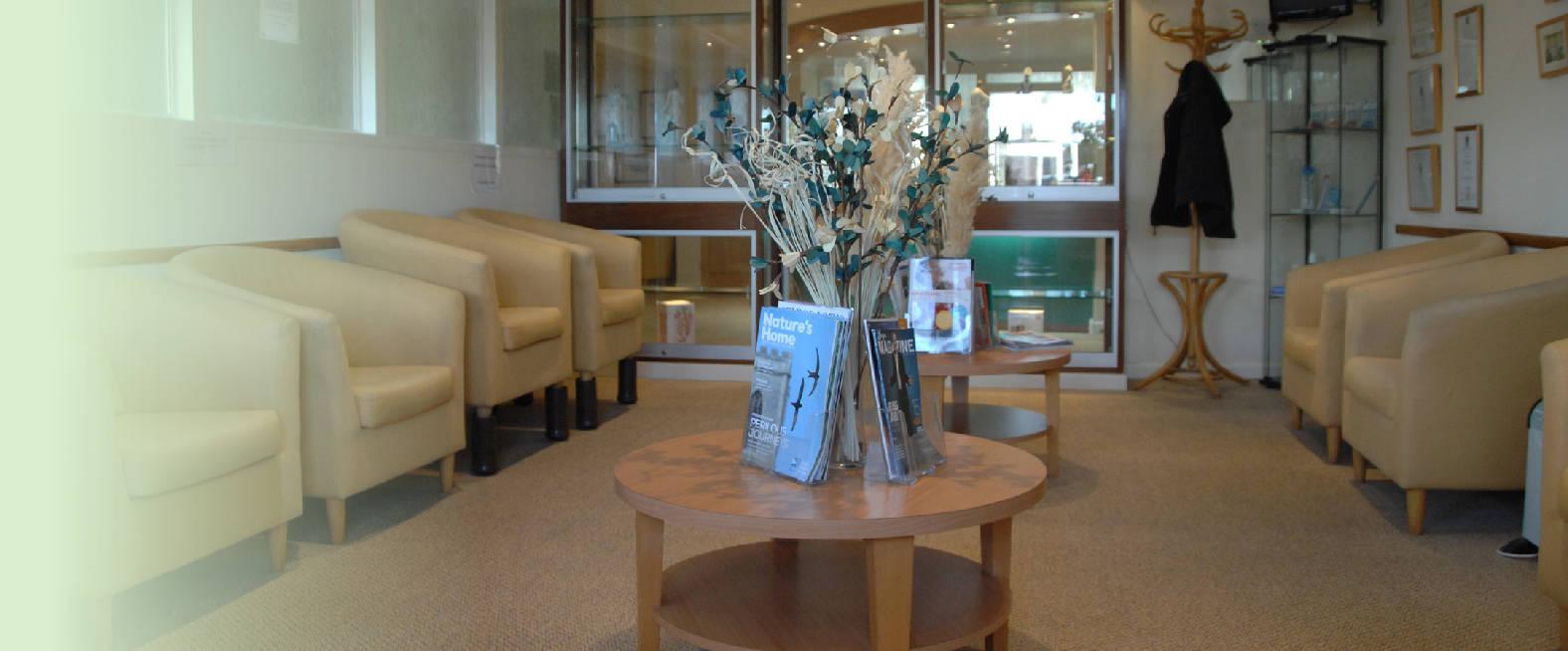 The dental centre ferndown waiting area