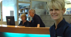 Speak with our friendly receptionists